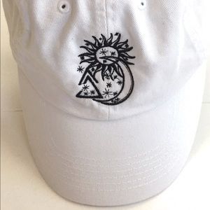 Snagz fathers cap, adjustable, white/w black logo